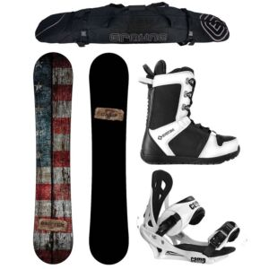 Special Camp Seven Drifter and Summit Men's Snowboard Package