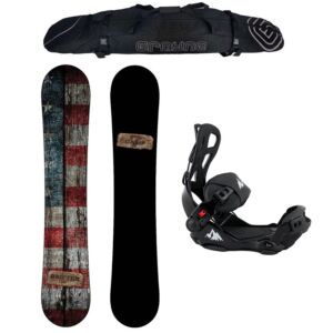 Special Snowboard Package Camp Seven Drifter and System LTX Rear Entry Bindings