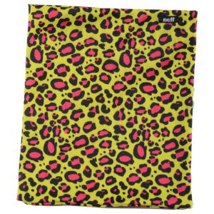 Neff Stretchy Neck Thing Leopard