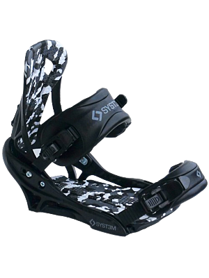 System APX Men's 2020 Snowboard Bindings