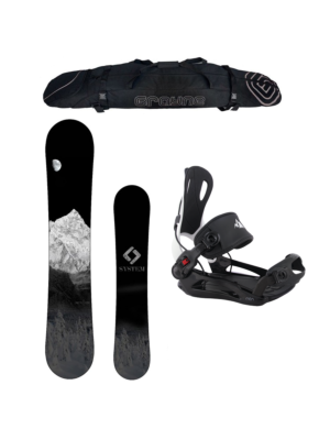 Special System MTN and MTN Rear Entry Bindings Snowboard Package